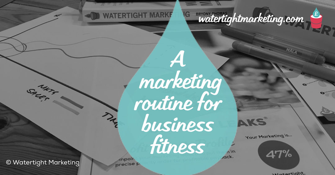 Good marketing is like a fitness regime