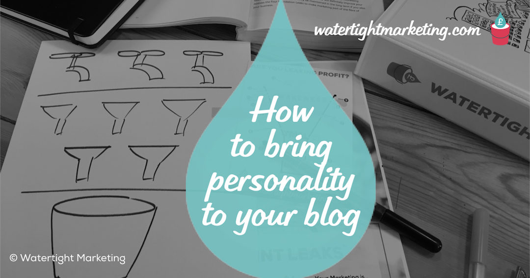 How to bring some personality to your blog