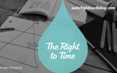 Are you earning the right to time?
