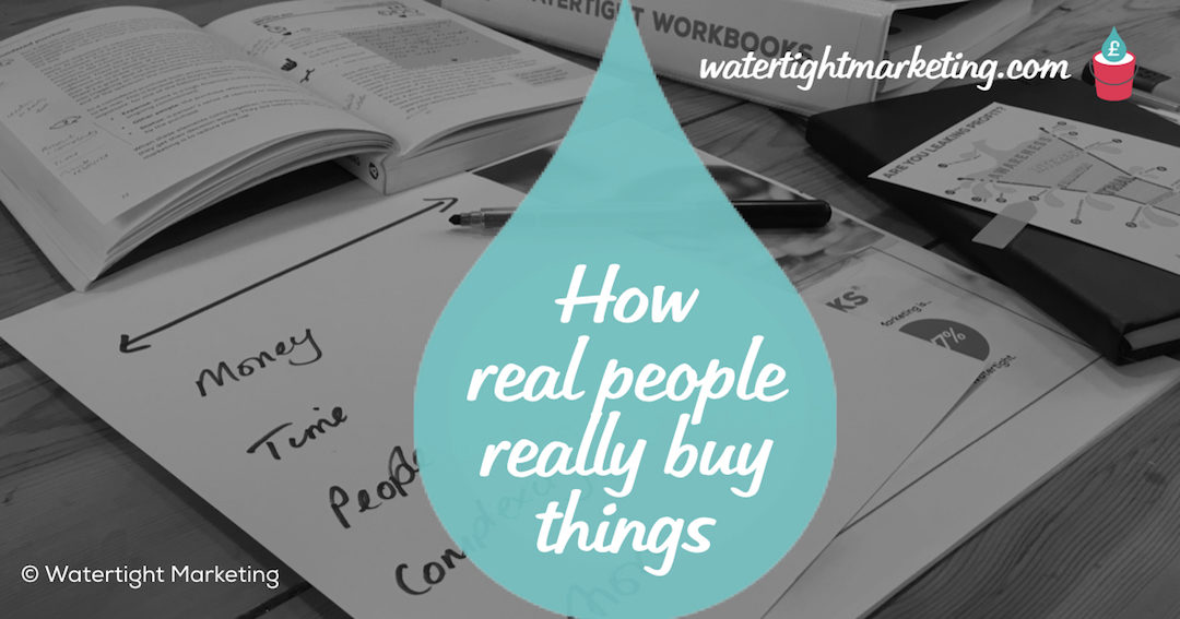 How real people really buy things