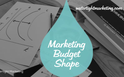 What shape is your marketing budget?