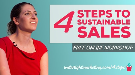 Bryony Thomas - 4 Steps to Sustainable Sales