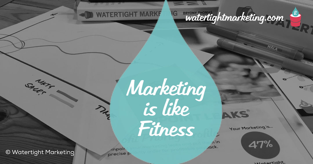10 ways that getting your marketing right is like getting fit (part 1)
