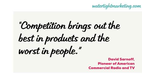 Competitors – a wise or wasteful use of your time?