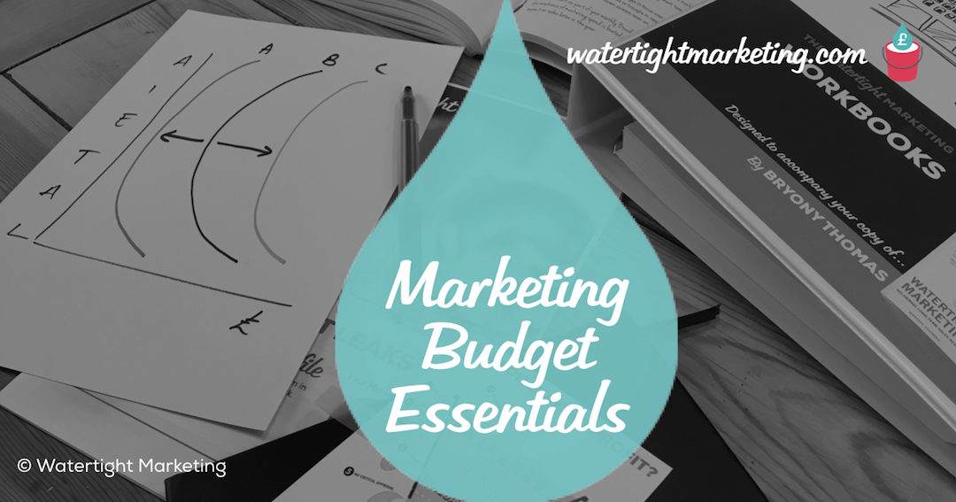 What should you include in the marketing budget for your small business?