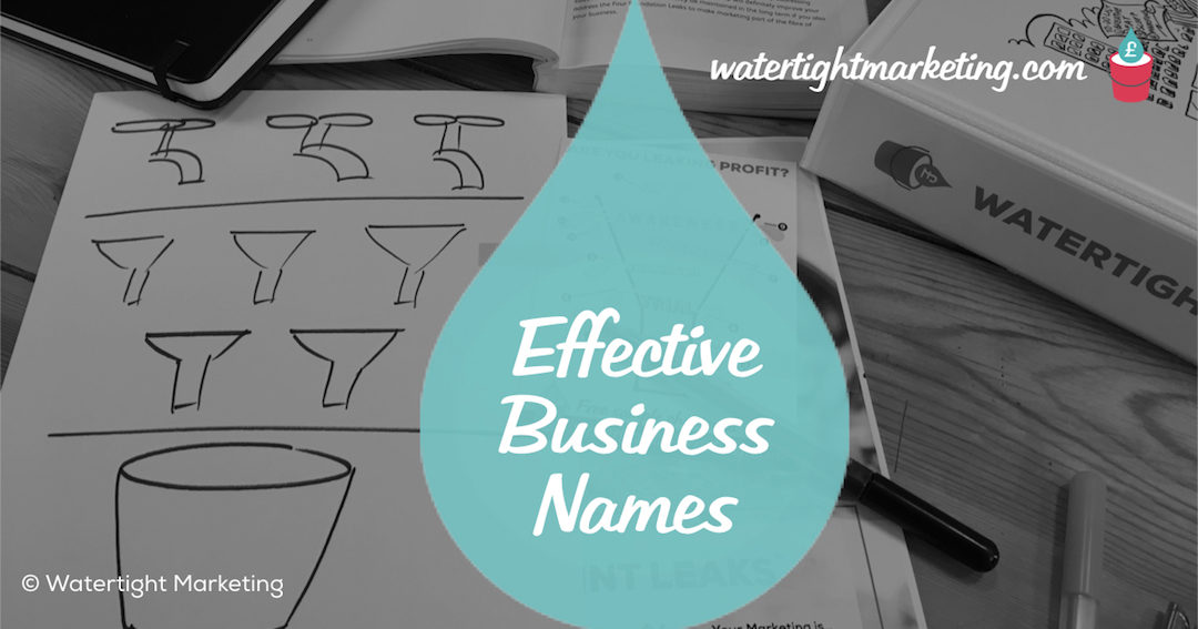 How to make your company name and strap line work hard for your business
