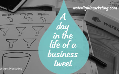 A day in the life of a small business tweet