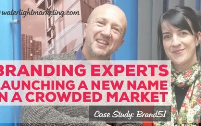 The branding experts who launched a new name in a crowded market