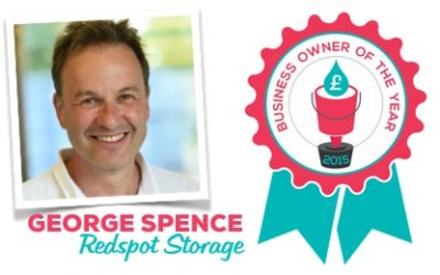 Business Owner of the Year 2015: George Spence, Redspot Storage