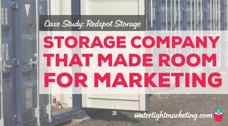 The storage company that made room for new marketing ideas