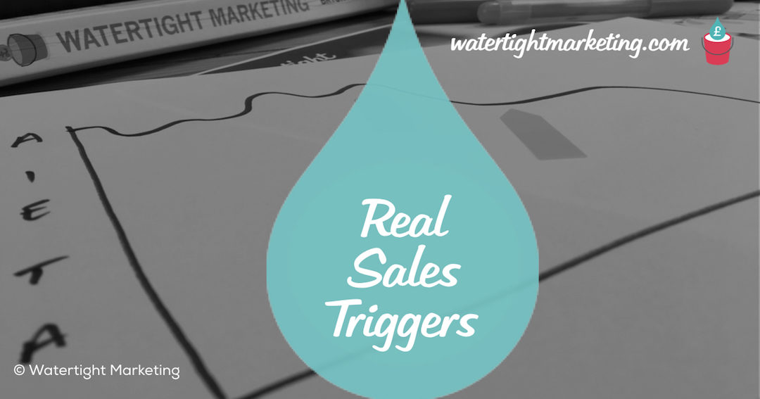 What are the real triggers in a sales process?