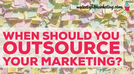 When should we outsource marketing?