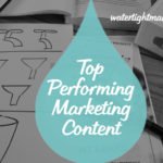 Top performing marketing content