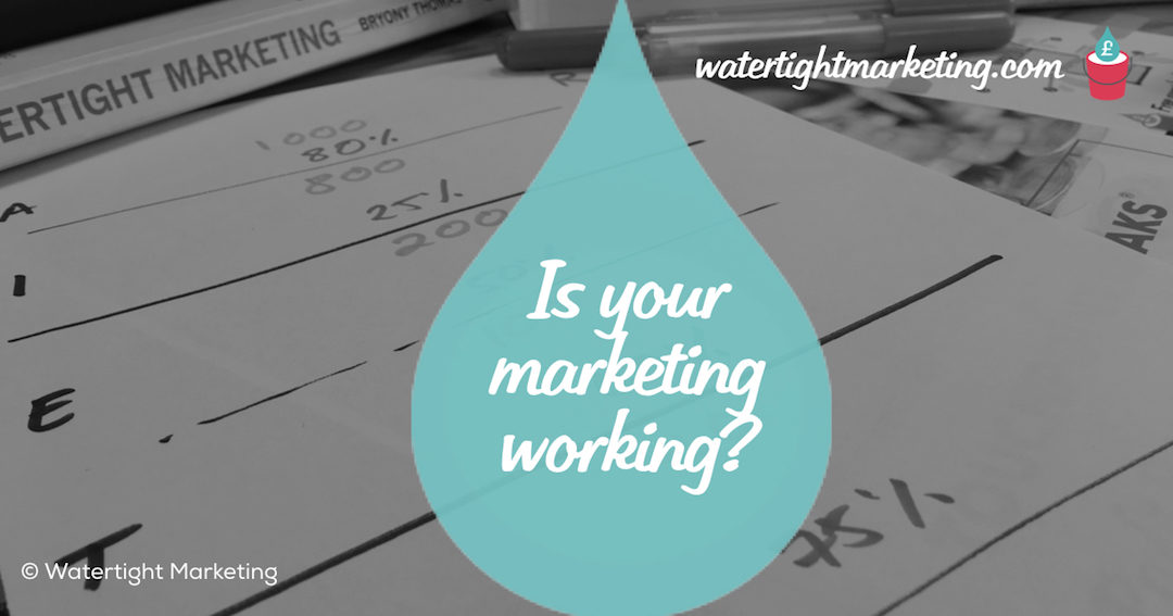 How do you know if your marketing is working?