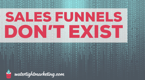Sales funnels don't exist - a marketing lesson from The Matrix