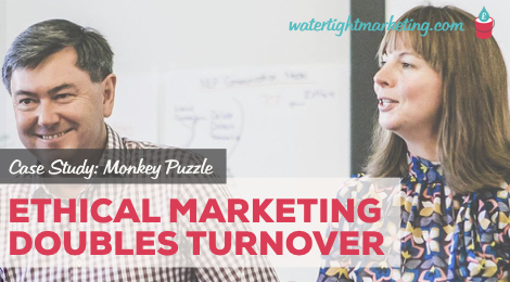 Ethical Marketing Doubles Turnover