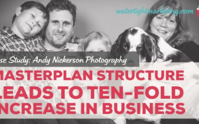 Masterplan's structured approach leads to a ten-fold increase in business