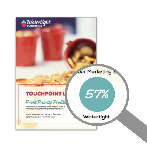 Your Watertight Marketing Score