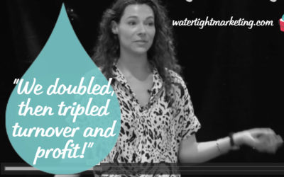 """Hollie Brooks: """"We doubled, then tripled turnover and profit!"""""""