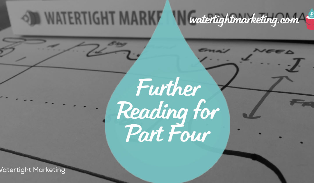 Further Reading for Part Four