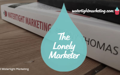 The life of a lonely marketer